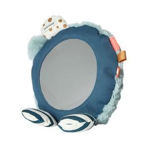 Podlahové zrkadlo s modrými detailmi Done by Der