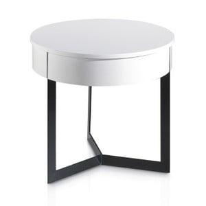 Biely príručný stolík Ángel Cerdá Ibbie