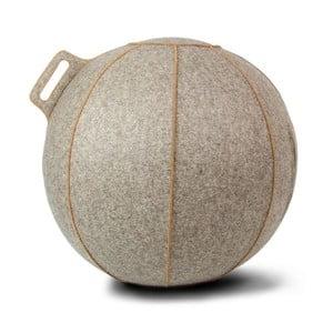 Sivo-béžová lopta na sedenie VLUV, 65cm