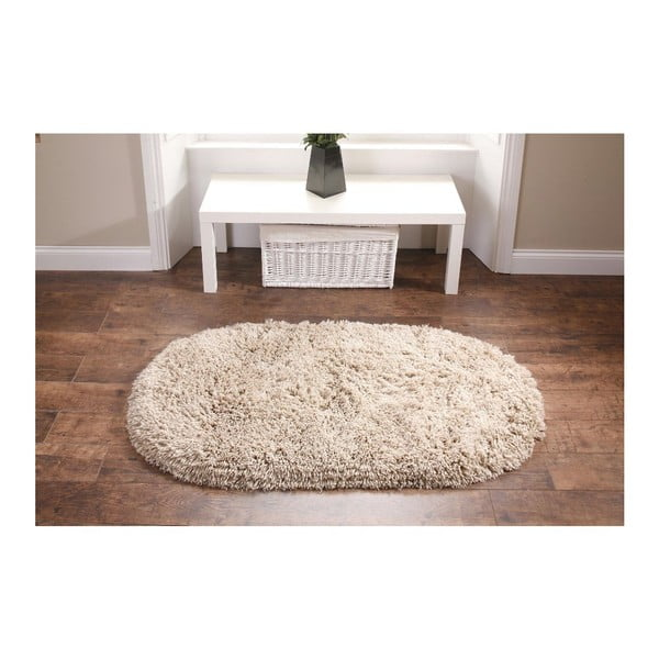 Béžový koberec Think Rugs Rainbow Beige, 75 x 135 cm