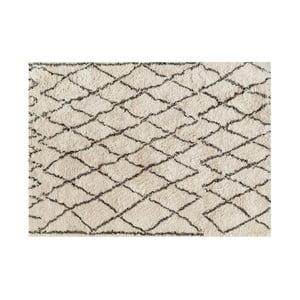 Vlnený koberec Linen Carlos, 120×170 cm