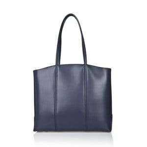 Kožená kabelka Markese 2393 Blue