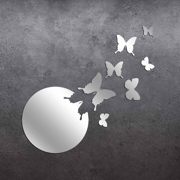 Dekoratívne zrkadlo Moon Butterflies