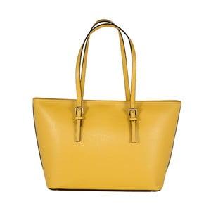 Kožená kabelka Andrea Cardone 2006 Yellow