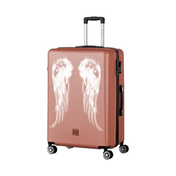 Staroružový cestovný kufor Berenice Wings, 107 l