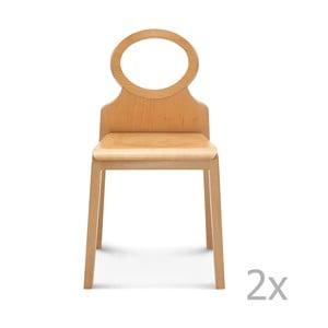 Sada 2 drevených stoličiek Fameg Gerdi