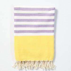 Hammam osuška z ručne tkanej bavlny ZFK Herborn, 170 x 100 cm