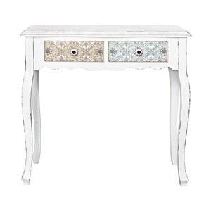 Konzolový stolík s 2 zásuvkami Bizzotto Leila