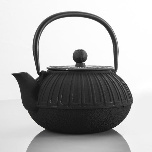 Liatinová kanvica Bona Black, 850 ml
