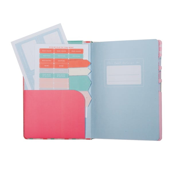 Denník pre knihomoľov Book Journal