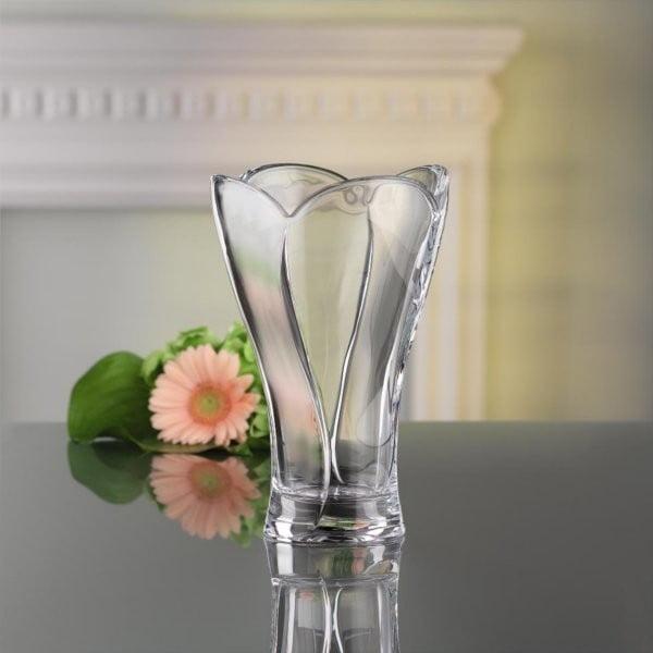 Váza z krištáľového skla Nachtmann Calypso, priemer 24 cm
