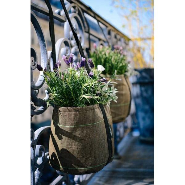 Sivý kvetináč, 25 L