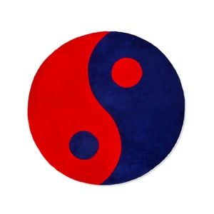 Detský koberec Beybis Blue and Red Jing Jang, 120 cm