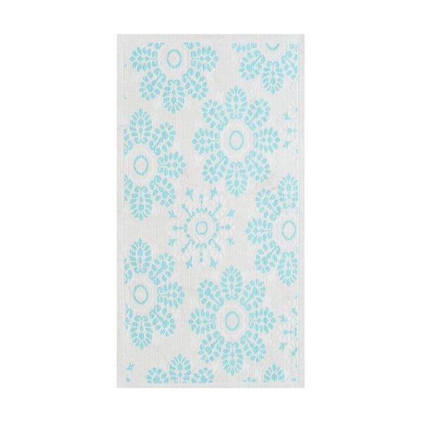 Modrý odolný koberec Vitaus Penelope, 60x90cm