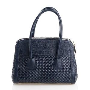 Kožená kabelka Beata, modrá