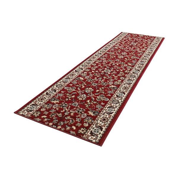 Koberec Basic Vintage, 80x300 cm, červený