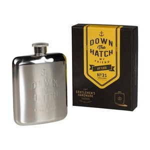 Ploskačka Brass Gentlemen's Hardware, objem 175 ml
