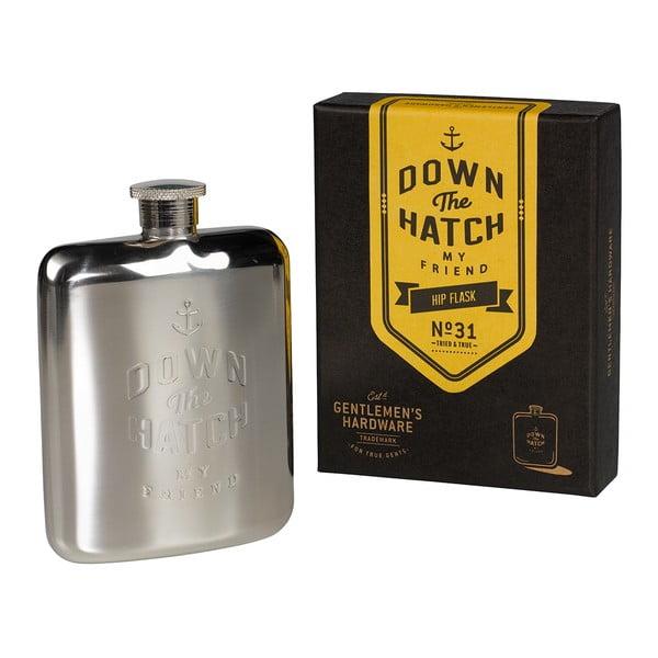 Ploskačka Brass Gentlemen's Hardware, objem 175 ml