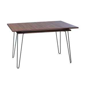 Rozkladací jedálenský stôl  v dekore orechového dreva 13Casa Elektra
