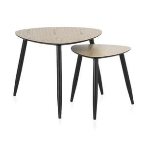 Sada 2 konferenčných stolíkov Geese Nordic Style Parro, 60 × 60 cm