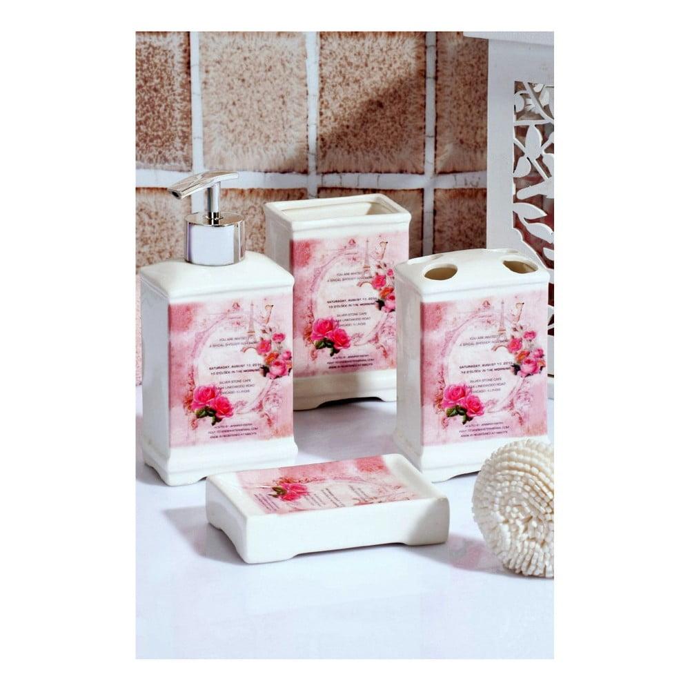 Set kúpeľňových doplnkov Blooming Paris