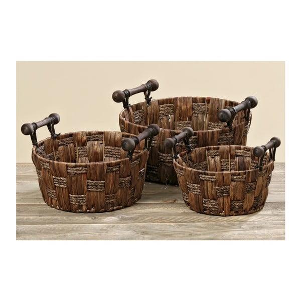 Sada 3 košíkov Abramo
