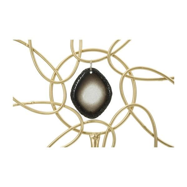 Dekoratívna soška zo železa v zlatej farbe Mauro Ferretti Daisy