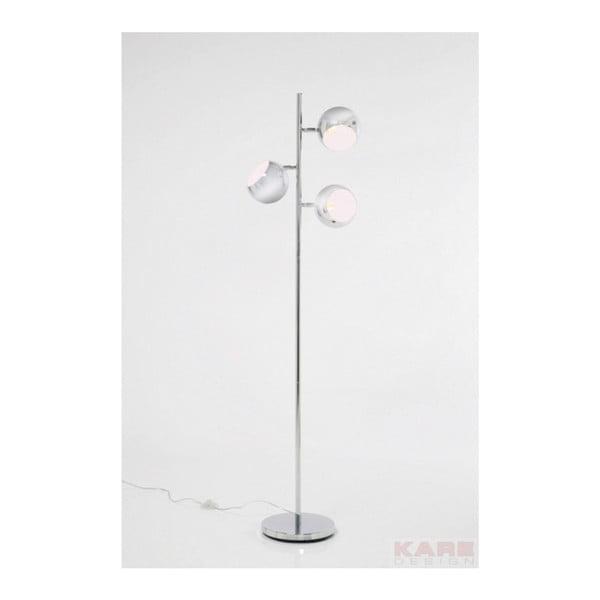 Stojacia lampa v chrómovej farbe Kare Design Calotta