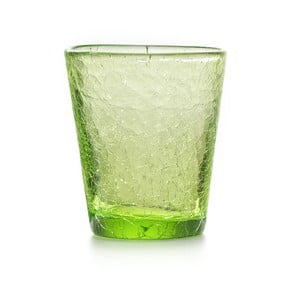 Set 6 ks pohárov Fade Ice, zelený