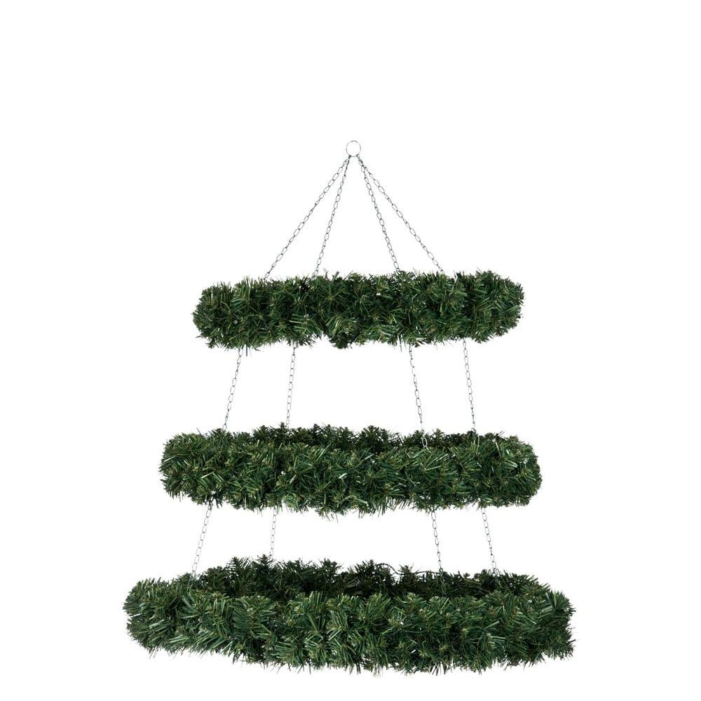Závesná vianočná dekorácia J-Line Wreath