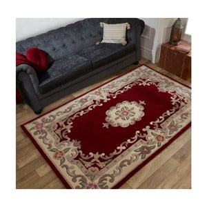 Koberec z vlny Flair Rugs Aubusson Red, 120 × 170 cm