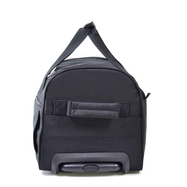 Čierna cestovná taška nakolieskach Hero, 83 l