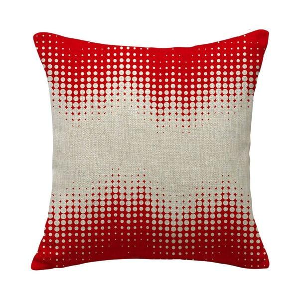 Vankúš Expansion Red, 45x45 cm