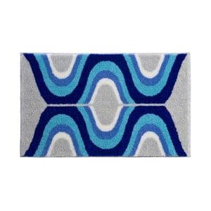 Kúpeľňová predložka Kolor My World XVII 70x120 cm, modrá