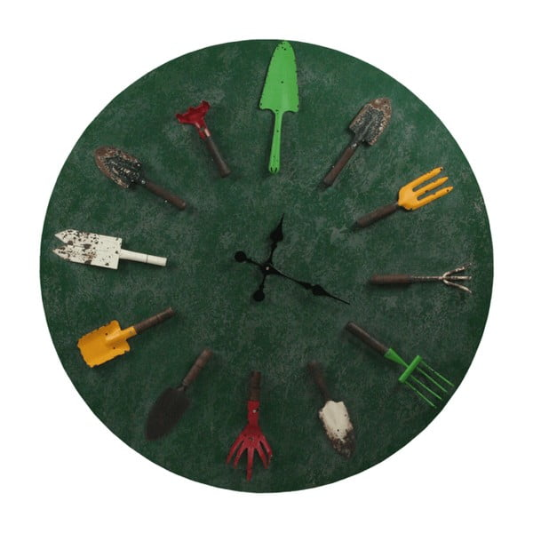 Nástenné hodiny Garden Tools
