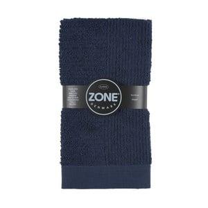 Tmavomodrý uterák Zone Classic, 50x100cm