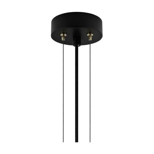 Závesná lampa v medenej farbe Bulb Attack Cuatro, priemer 60 cm