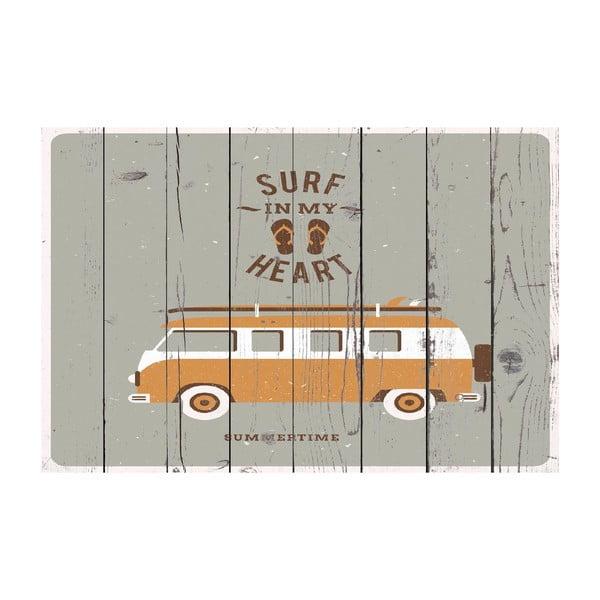 Vinylový koberec Van Gris, 100x150 cm
