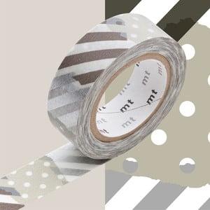 Washi páska Mix Gris Tsugihagi