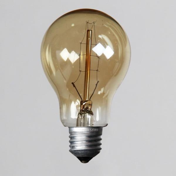 Žiarovka Edison Vintage 8, A19 E27 40W