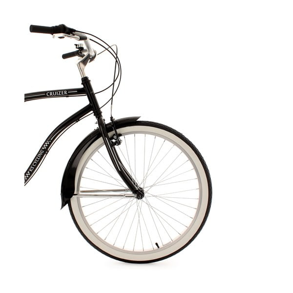 Bicykel Beachcruiser RH Black, 26""