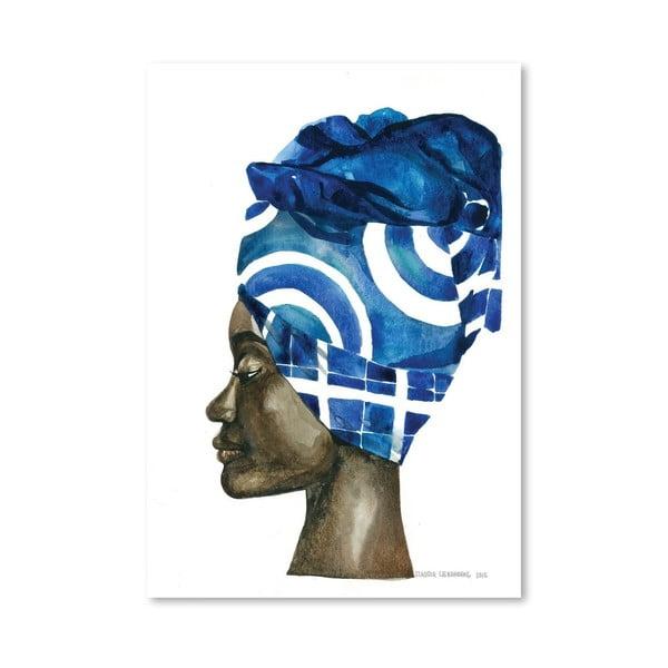 Plagát African Pride II, 30x42 cm