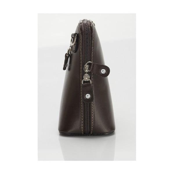 Kožená kabelka Giorgio Costa 15027 D BROWN