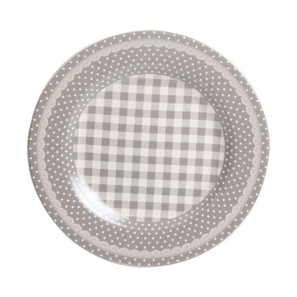Tanier Grey Dots&Checks, 25.5 cm