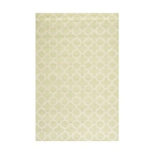 Vlnený koberec Bessa Light Green, 121x182 cm