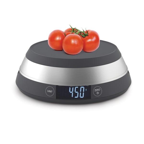 Sivá digitálna kuchynská váha Joseph Joseph Switch