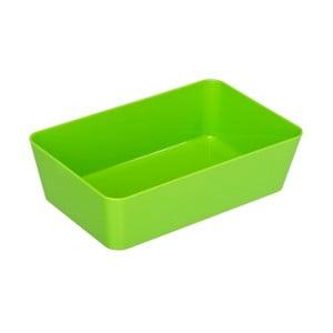 Zelený úložný box Wenko Candy, 22 x 14 cm