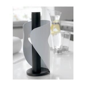 Držiak na servítky Steel Function Pisa, biely/čierny