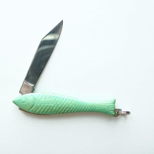 Svetlozelený český nožík rybička