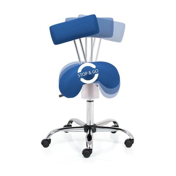 Kancelárske kreslo Ergo Flex, modré